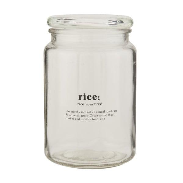 Skleněná dóza Clayre & Eef Clayre Rice