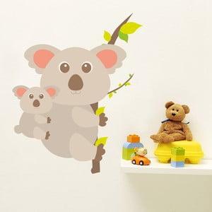Samolepka Koala a mládě, 70x50 cm