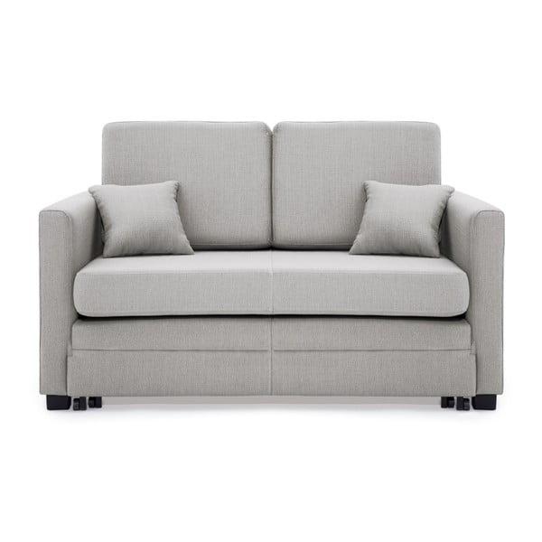 Canapea extensibilă, 2 locuri, Vivonita Brent, gri deschis