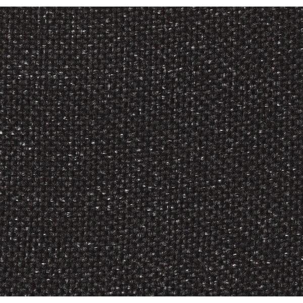 Černá rozkládací pohovka s područkami Innovation Idun