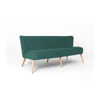 Canapea cu 3 locuri Custom Form Harry, verde de la Custom Form