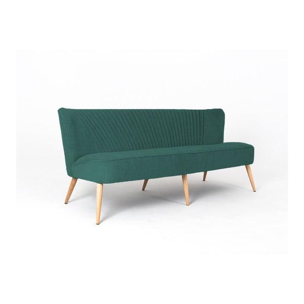 Canapea cu 3 locuri Custom Form Harry, verde