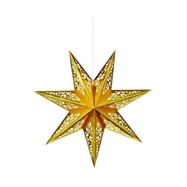Svítící hvězda Valby Gold, 45 cm