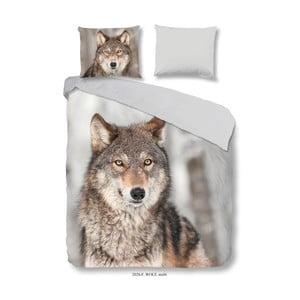 Lenjerie de pat Good Morning Wolf, 140 x 200 cm