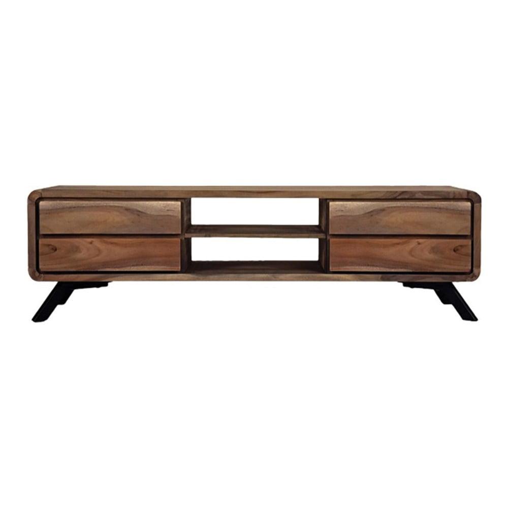 TV stolek z akáciového dřeva LABEL51 Havana
