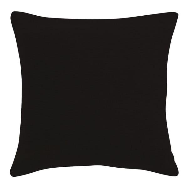 Polštář z mikrovlákna s výplní 45x45cm, černý