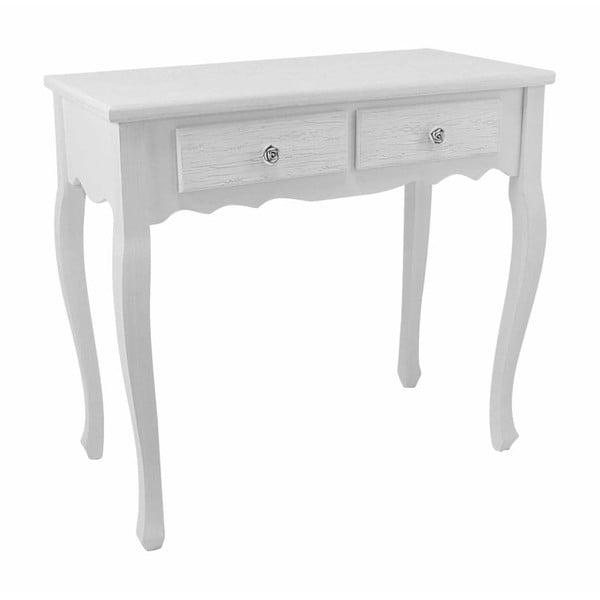 Konzolový stolek Blanc, 80x40x75 cm