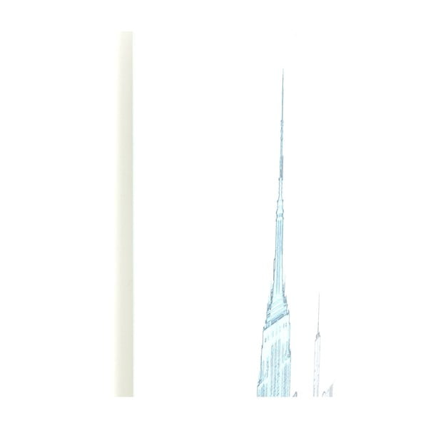 Tablou din sticlă pentru perete Kare Design Empire State Building, 120 x 80 cm