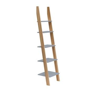 Raft în formă de scară Ragaba ASHME, lățime 45 cm, gri închis imagine