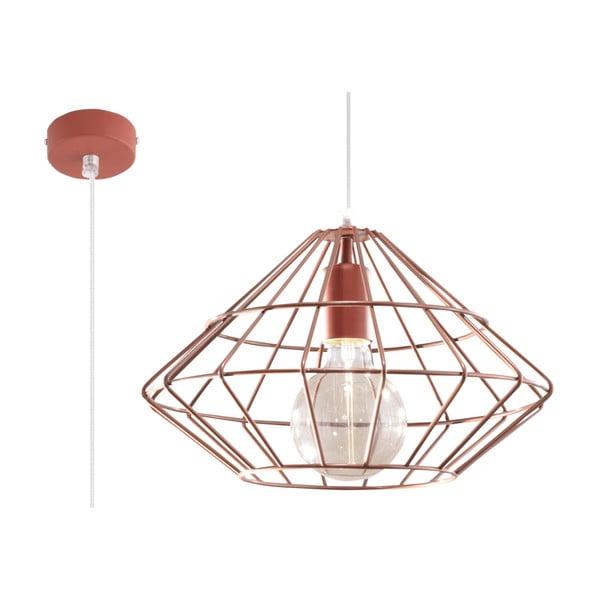 Stropní svítidlo v měděné barvě Nice Lamps Editta