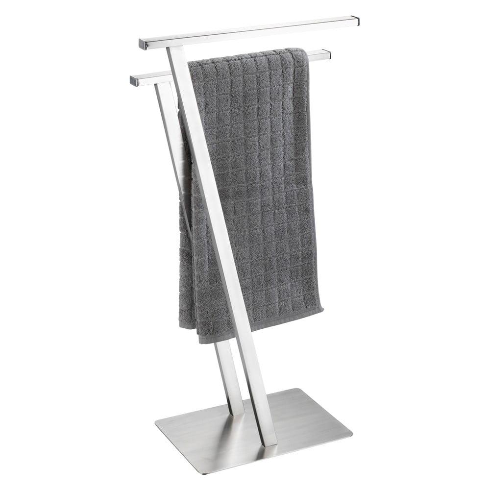 Produktové foto Držák na ručníky z nerezové oceli Wenko Lirio