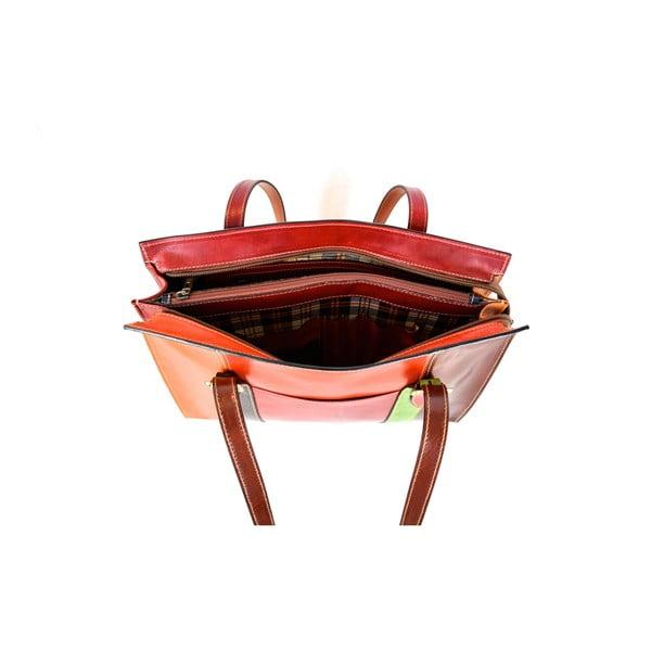 Kožená kabelka Santo Croce 132093 Multi
