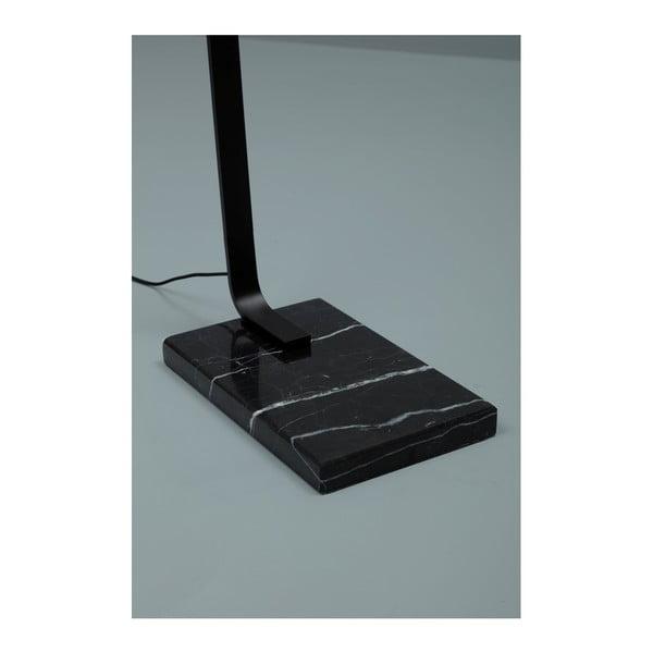 Černá stojací lampa Design Twist Carolei