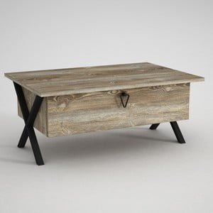 Konferenční stolek súložným prostorem Zeth Patik