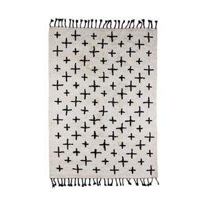 Béžový bavlněný koberec De Eekhoorn More, 170x240cm