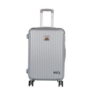 Šedých cestovní kufr LULU CASTAGNETTE Darwin, 71l
