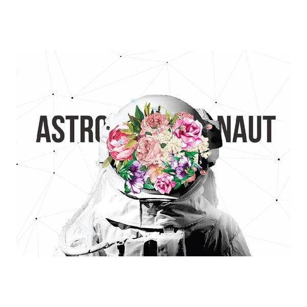 Pictură pe pânză Astronaut, 60 x 60 cm