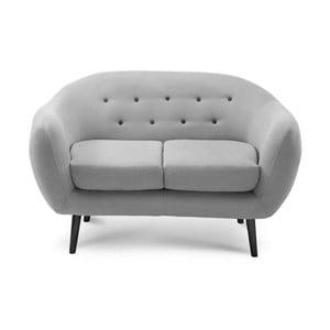 Šedá dvoumístná sedačka Scandi by Stella Cadente Maison Constellation