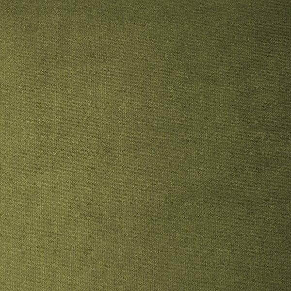 Olivově zelená třímístná modulová pohovka Vivonita Velvet Cube