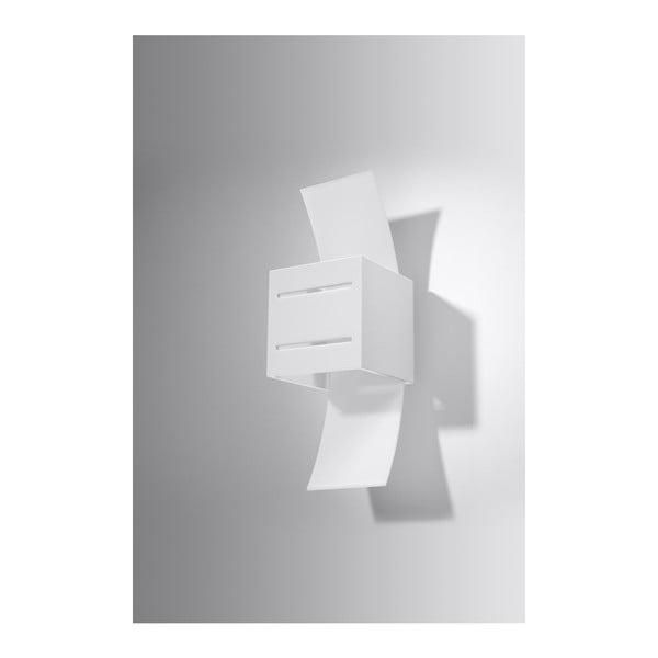 Bílé nástěnné svítidlo Nice Lamps Carlo