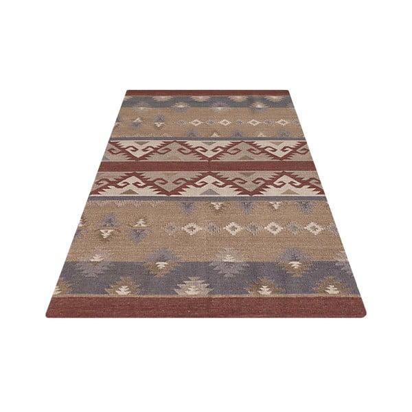 Vlněný koberec Kilim No. 706, 155x240 cm