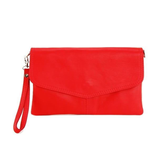 Kožená kabelka Masienne Rosso