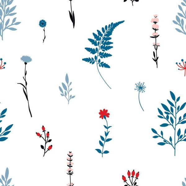 Tapet Dekornik Blue Meadow, 50 x 280 cm