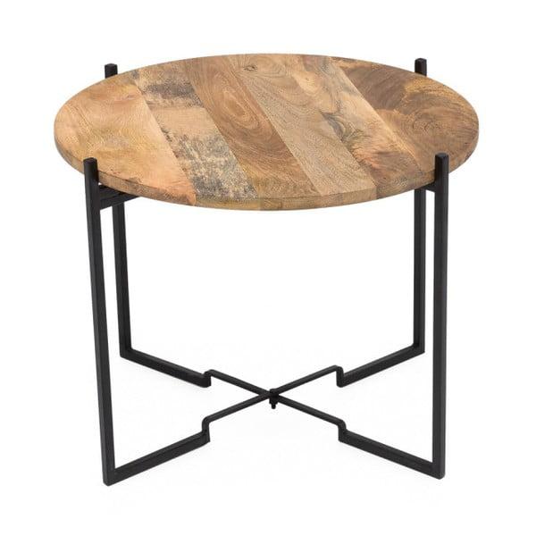 Konferenční stolek s železnou konstrukcí WOOX LIVING Fera, ⌀53cm