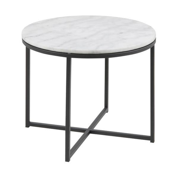 Odkládací stolek s mramorovou deskou Actona Cross