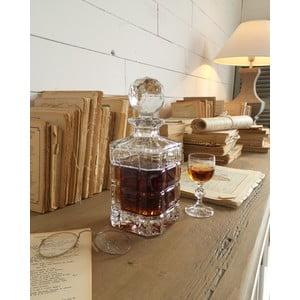 Broušená lahev na whisky Fine, 25 cm