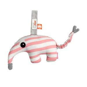 Růžovo-bílá hrací hračka Done by Deer Antee