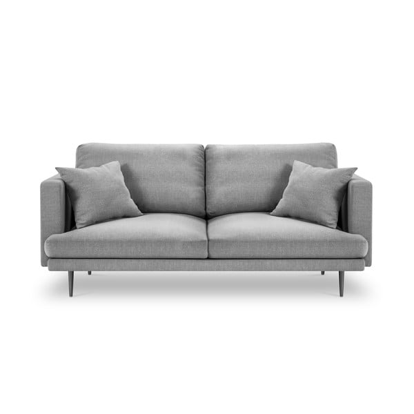 Jasnoszara 3-osobowa sofa Milo Casa Piero