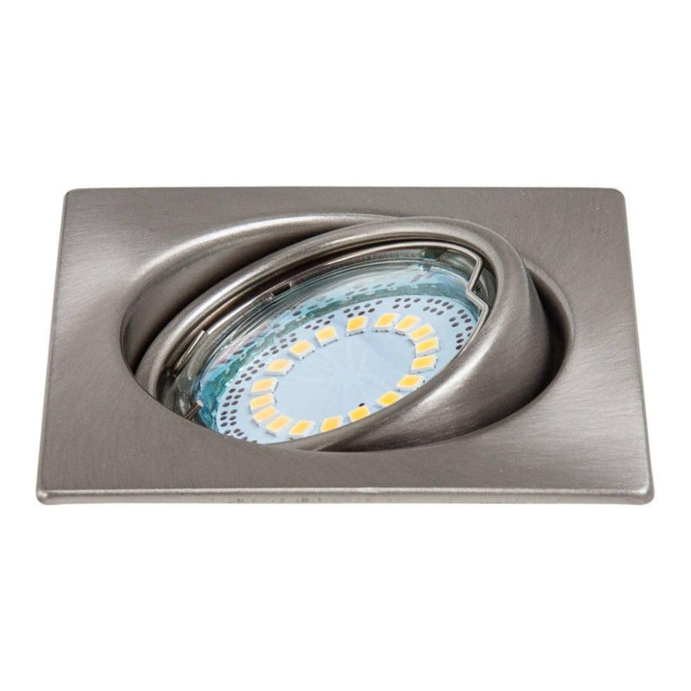 Stříbrné stropní/nástěnné světlo BRITOP Lighting CristalDream Matte Square