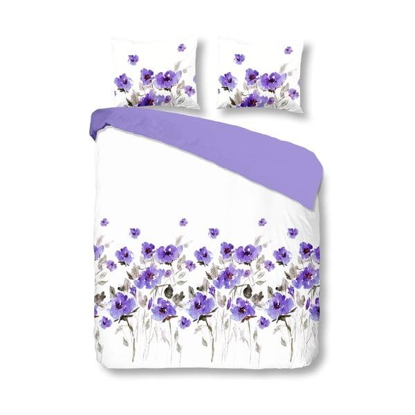 Povlečení Flowerdream Purple, 200x200 cm