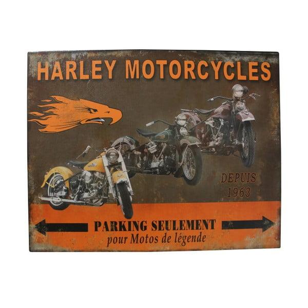 Kovová cedule Antic Line Harley Mororcycles
