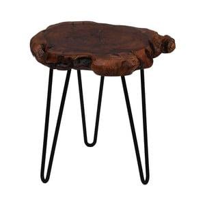 Odkládací stolek s deskou z cedrového dřeva 360 Living Montanio 422