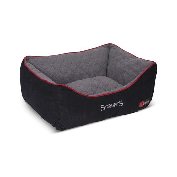 Psí pelíšek Thermal Bed 50x40 cm, černý