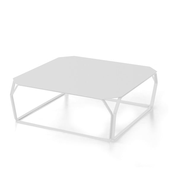 Stolek MEME Design Metallo Bianco