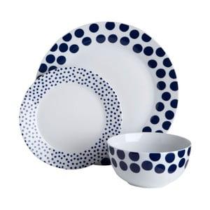 Jídelní sada Premier Housewares Blue Spots, 12ks