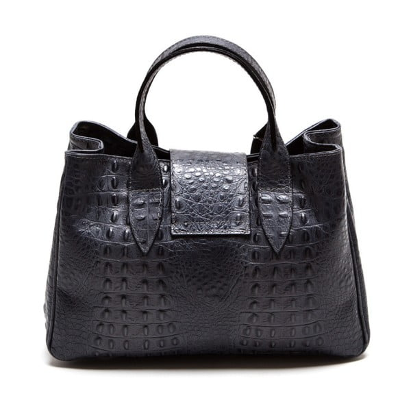 Kožená kabelka Isabella Rhea 614 Grigio