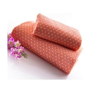 Set dvou ručníků Naila 140x70 a 90x50 cm, lososový