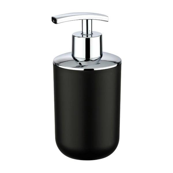 Czarny dozownik do mydła Wenko Brasil