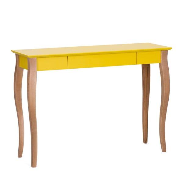 Lillo sárga íróasztal, szélesség 105 cm - Ragaba