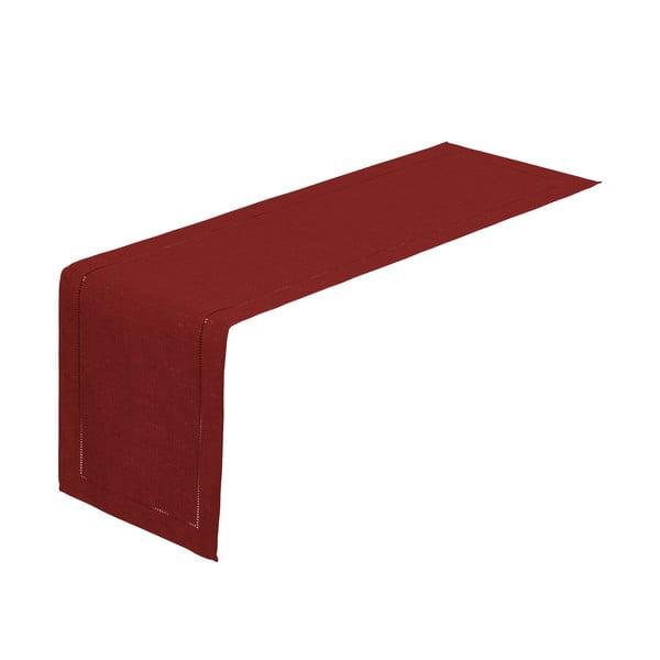 Bíborvörös asztali futó, 150 x 41 cm - Unimasa