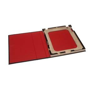 Obal na iPad 2/3/4, červený/černý