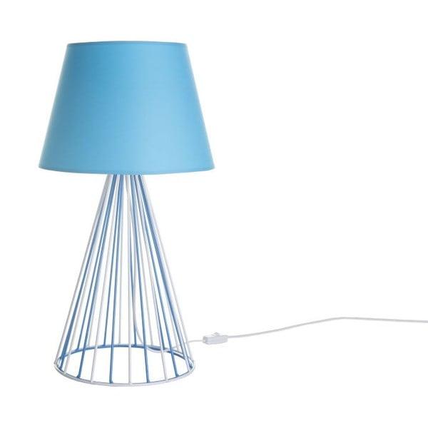 Stolní lampa Wiry Blue/White/Blue