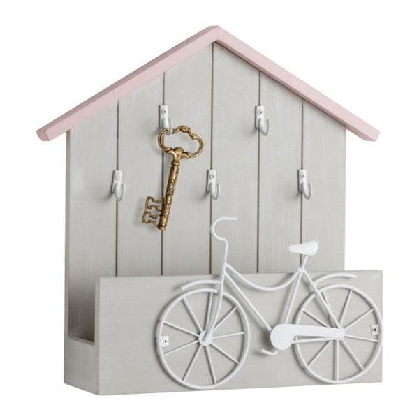 Věšák na klíče s odkládací plochou Brandani Bicicle