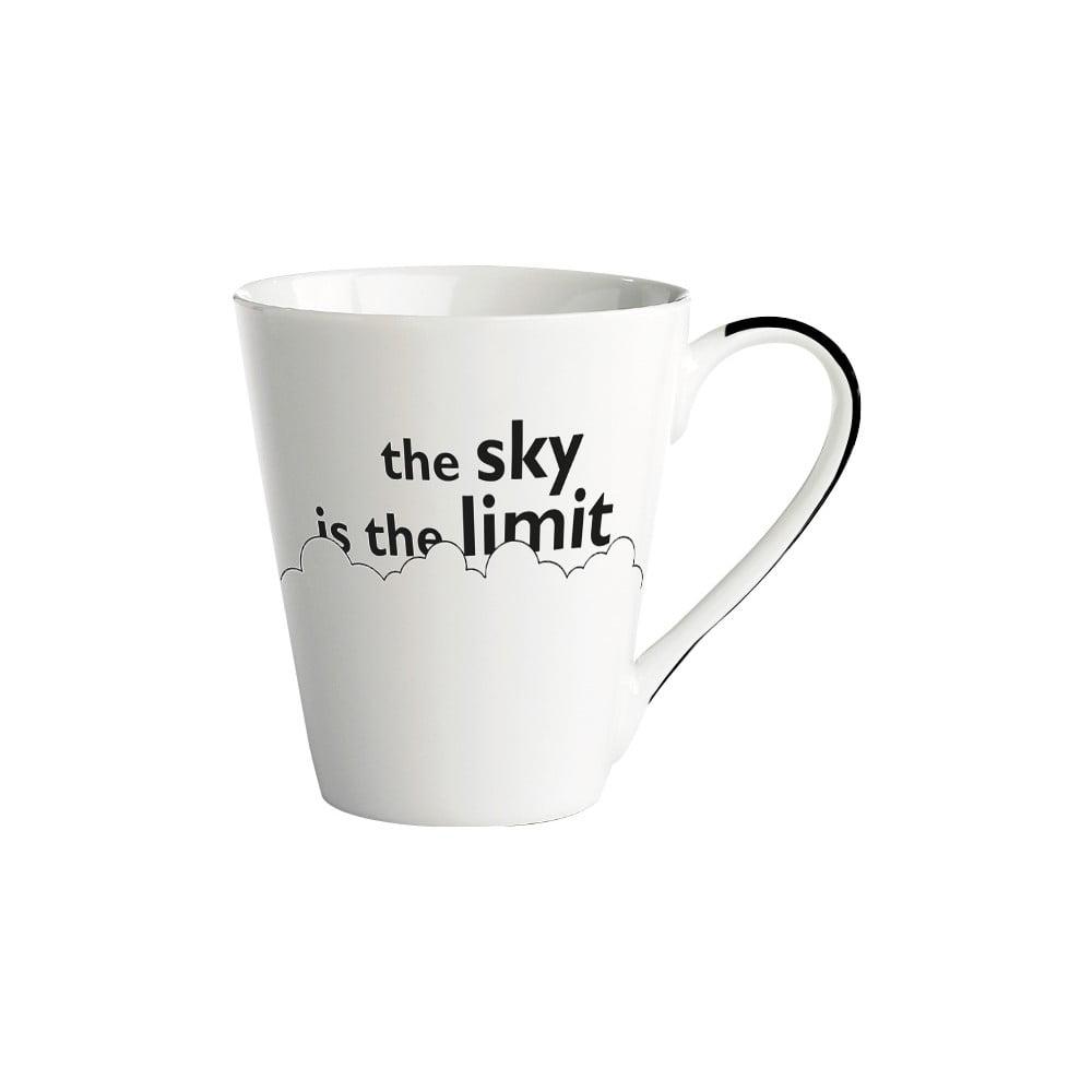 Porcelánový hrnek KJ Collection The Sky Is The Limit, 300 ml
