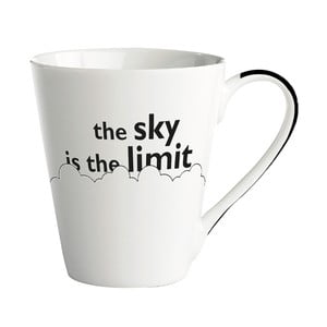 Porcelánový hrnek KJ Collection The Sky Is The Limit, 300 ml