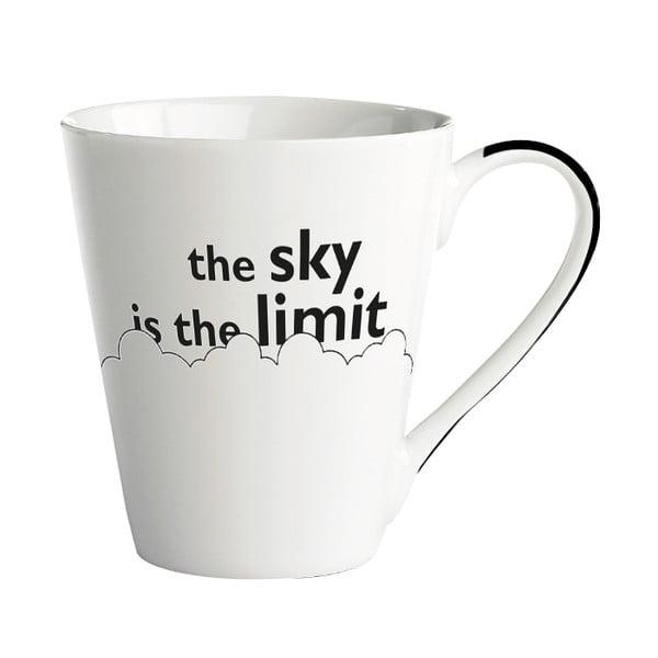 Cană porțelan KJ Collection The sky is the limit, 300 ml